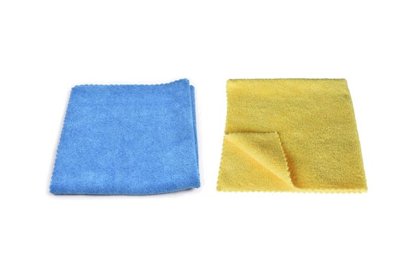 Microfiber Cloths Yellow